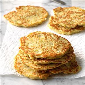 Leek Potato Pancakes Recipe