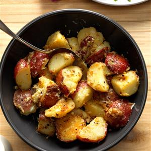 Lemon & Garlic New Potatoes Recipe