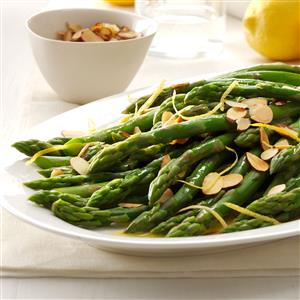 Lemon Almond Asparagus Recipe