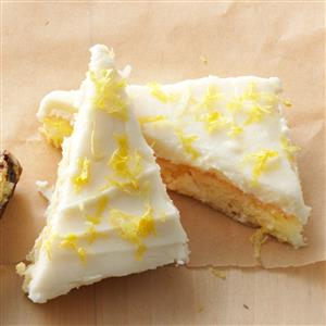 Lemon Squares Made With Angel Food Cake Mix