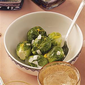 Lemon Brussels Sprouts Recipe