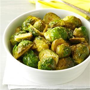 Lemon-Butter Brussels Sprouts Recipe