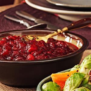 Lemon Cranberry Sauce Recipe