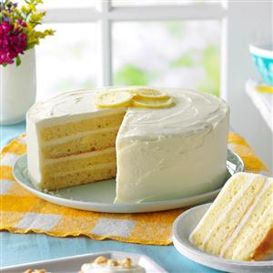 Lemon Layer Cake Recipe