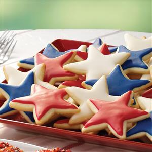 Lemon Nut Star Cookies Recipe