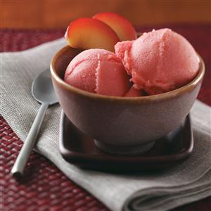 Lemon Plum Sorbet Recipe