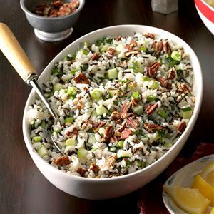 Lemon Rice Salad Recipe
