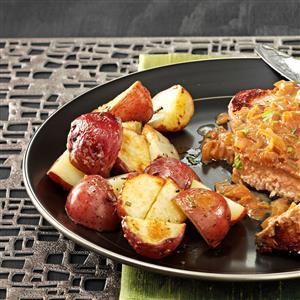 Lemon Roasted Potatoes Recipe