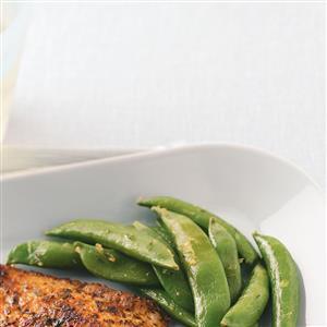 Lemon Snap Peas Recipe