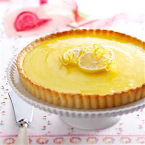 Lemon Tart with Almond Crust Recipe