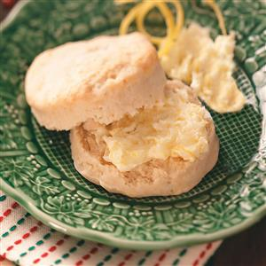 Lemon Tea Biscuits Recipe