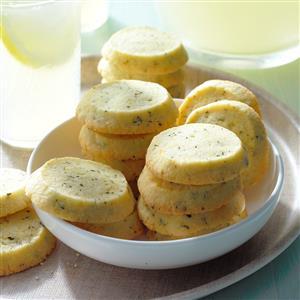 Lemon Thyme Icebox Cookies Recipe