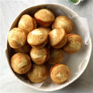 Lemon Yeast Puffs Recipe