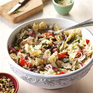 Lemony Vegetables and Pasta Recipe