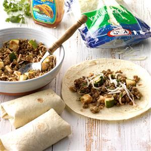 Lentil Burritos Recipe