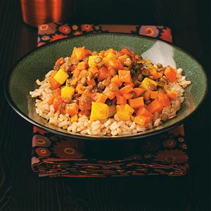Lentil Sweet Potato Curry Recipe