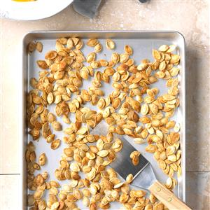 Light Roasted Pumpkin Seeds Recipe