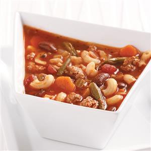 Lightened-Up Pasta Fagioli Soup Recipe