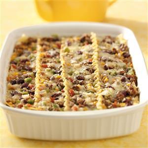 Lighter Lasagna Corn Carne Recipe