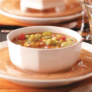 Lima Bean Okra  Soup Recipe