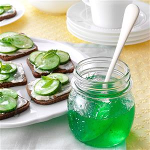 Lime Mint Jelly Recipe