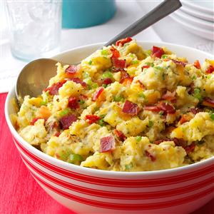 Loaded Smashed Taters Recipe