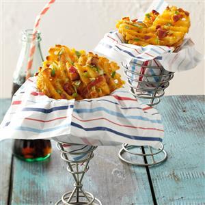 Loaded Waffle Fries Recipe