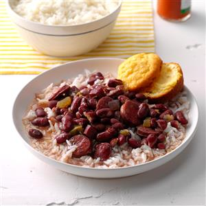 Lora's Red Beans & Rice Recipe