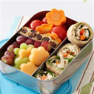 Lunch Box Chicken Wrap Recipe