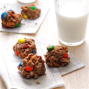 M&M & Pretzel Cookies Recipe