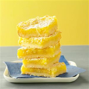 Macadamia Lemon Bars Recipe