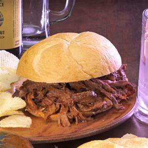Machete Shredded Beef Sandwiches Recipe