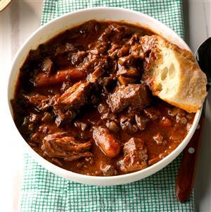 Mainly Mushroom  Beef Carbonnade Recipe