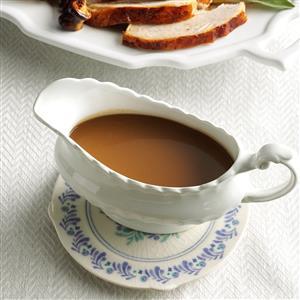 Make-Ahead Maple & Sage Gravy Recipe
