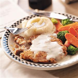 Makeover Country-Fried Steak Recipe