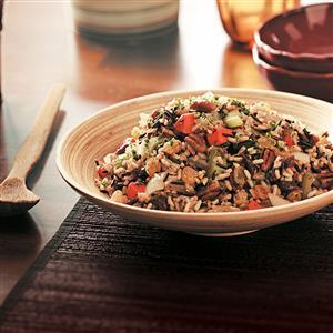 Makeover Fruited Wild Rice Pilaf Recipe