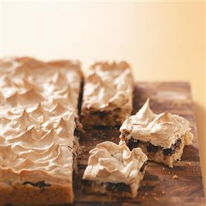 Makeover Meringue Coconut Brownies Recipe