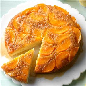 Makeover Peach Upside-Down Cake