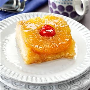 Makeover Pineapple Upside-Down Cake Recipe