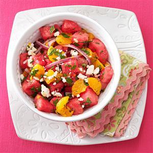 Mandarin Watermelon Salad Recipe