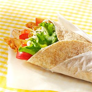 Mango Chicken Wraps Recipe