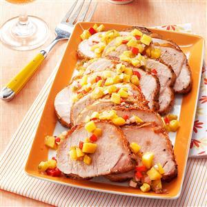 Mango Chutney Pork Roast Recipe