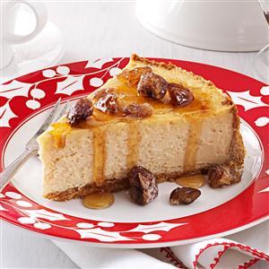 Maple-Chestnut Cheesecake Recipe