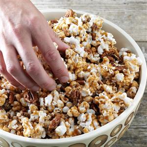 Maple Crunch Popcorn Recipe