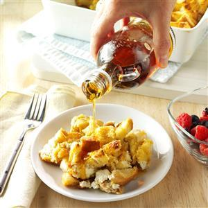Pressure Cooker Maple French Toast Recipe