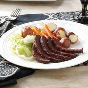 Maple-Glazed Corned Beef Recipe