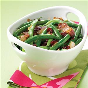Maple-Glazed Green Beans