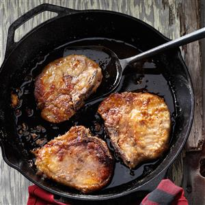 Maple Glazed Pork Chops Recipe