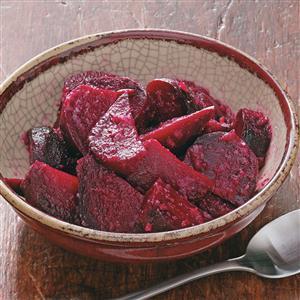 Maple Horseradish Beets Recipe