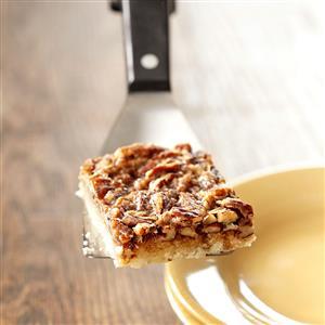 Maple Pecan Bars Recipe